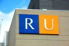 Ryerson University Sign Royalty Free Stock Image