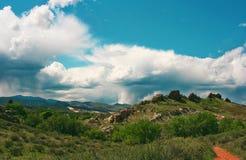 Ryggrad för jäkel` s i Loveland, Co arkivbild
