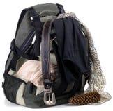 ryggsäckkläder fotografering för bildbyråer