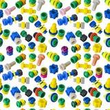 rygli dokrętek bezszwowa tekstury zabawka Fotografia Stock
