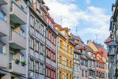 ryglowi domy Nuremberg fotografia stock