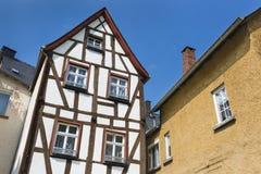 ryglowy dom W Cochem, Niemcy Zdjęcia Stock