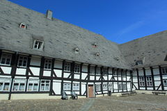 Ryglowy dom w Goslar Obraz Stock