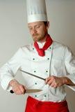 rygorystyczne nóż Fotografia Stock