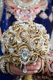 Rym den guld- buketten Royaltyfri Bild