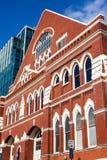 Ryman观众席,纳稀威,田纳西 免版税库存图片