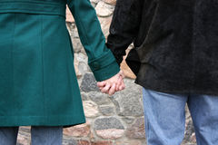 rymda händer Royaltyfri Foto