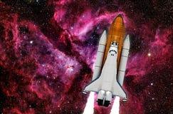 Rymdfärja Rocket Spaceship Royaltyfri Fotografi
