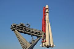 Rymdskepp Vostok-1 Ryssland Royaltyfri Foto