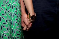 rymma för händer Royaltyfri Fotografi