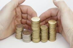 rymma för mynt Royaltyfri Foto