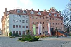 RYN, POLSKA Ryn kędziorka hotel Zdjęcie Stock
