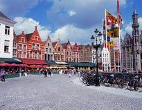 Rynek, Bruges Zdjęcie Stock