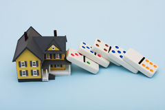 rynek budownictwa mieszkaniowego Zdjęcia Stock