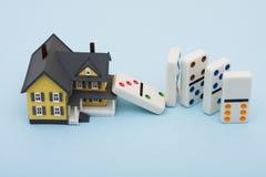 rynek budownictwa mieszkaniowego Obrazy Royalty Free