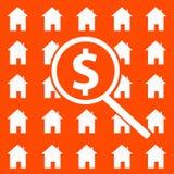 rynek budownictwa mieszkaniowego ilustracja wektor
