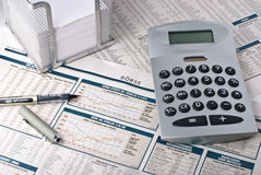 rynek finansowy Zdjęcie Royalty Free