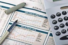 rynek finansowy Obrazy Stock
