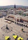 Rynek G?ówny Kraków fotografía de archivo libre de regalías