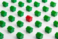 Rynek nieruchomości i nieruchomość Obrazy Royalty Free