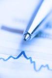 Rynek Papierów Wartościowych analizuje obrazy stock