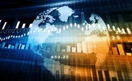 Rynek Papierów Wartościowych mapa obrazy stock