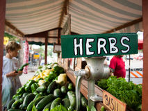 rynek produktów rolnictwa świeże warzywa Fotografia Royalty Free