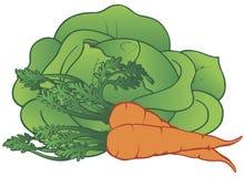 rynek produktów rolnictwa świeże warzywa Zdjęcia Stock