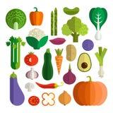 rynek produktów rolnictwa świeże warzywa ilustracji