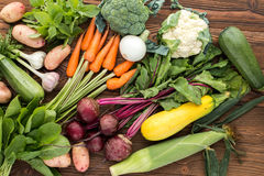rynek produktów rolnictwa świeże warzywa Obraz Royalty Free