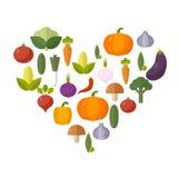 rynek produktów rolnictwa świeże warzywa Diety i żywności organicznej pojęcie również zwrócić corel ilustracji wektora Fotografia Royalty Free