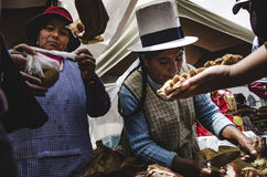 Rynek San Pedro zdjęcia stock