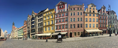 Rynek square. The historic Rynek market square in Wroclaw, Poland Stock Photography