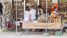 Rynek w Capito w Montenegro Fotografia Royalty Free