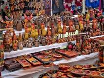 Rynek w Chichicastenango, Chichicastenango, Gwatemala obraz royalty free