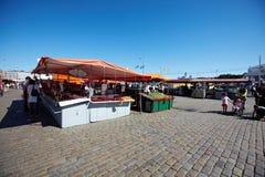 Rynek w Helsinki Zdjęcia Stock