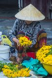 Rynek w Hoi Wietnam Obrazy Royalty Free
