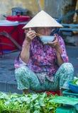 Rynek w Hoi Wietnam Obraz Stock