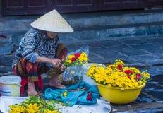 Rynek w Hoi Wietnam Obrazy Stock