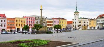 Rynek w Kromeriz, republika czech obraz stock