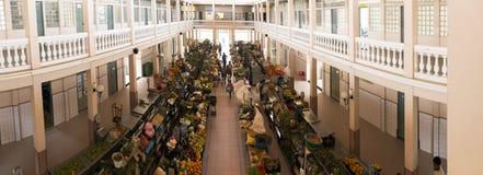 Rynek w mieście Mindelo Fotografia Royalty Free