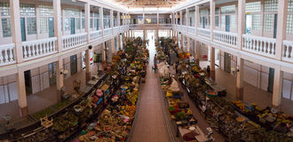 Rynek w mieście Mindelo Obraz Royalty Free