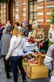 Rynek w Sevilla, Hiszpania zdjęcie royalty free