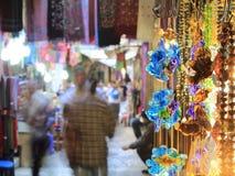 Rynek w Starym Jerozolima zdjęcie stock