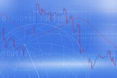 Rynek walutowy handel Obrazy Stock
