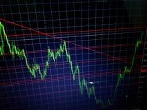 Rynek walutowy handlarska strategia Obrazy Royalty Free