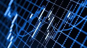 Rynek walutowy mapy Fotografia Stock