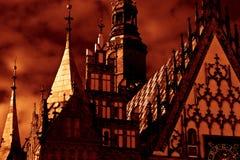 Rynek in Wroclaw, Poland Royalty Free Stock Image