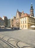 Rynek wroclaw poland europe Royalty Free Stock Photos