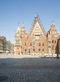 Rynek wroclaw poland europe Stock Image